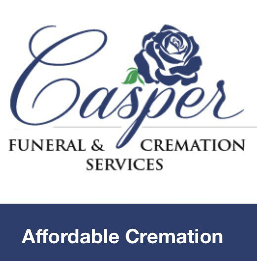 "Screenshot of an ad for ""Casper Funder & Cremation Services - Affordable Cremation."""