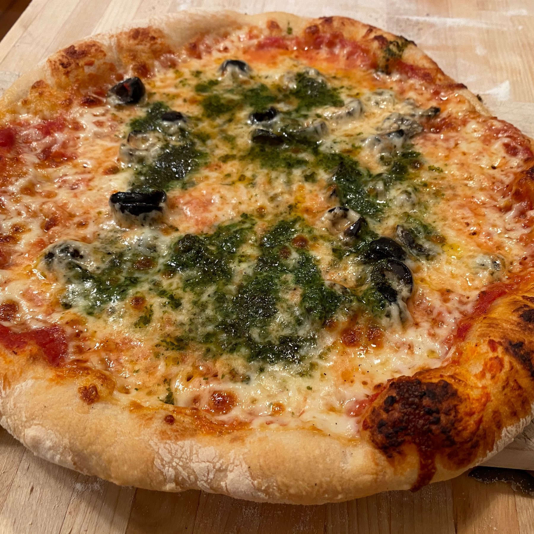 picture of homemade pizza